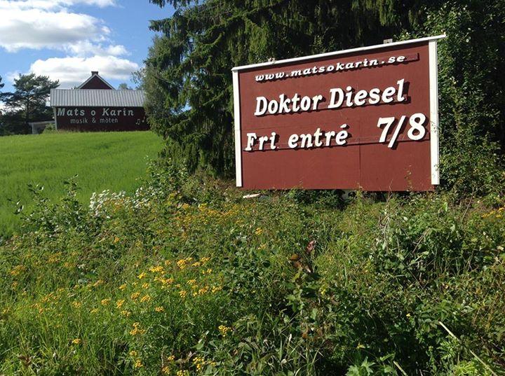 Doktor Diesel spelning 150807